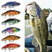 Fishing Lures Hard Bait Lure Crankbait Fish Bass Wobbler Treble Bait Hooks Y5Y3