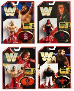 WWE Figures - Retro Series 6 - Mattel - Brand New - Sealed - SHIPPING COMBINES