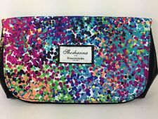Shoshanna Elizabeth Arden Cosmetic Makeup Bag Clutch Purse Colorful Polka Dots