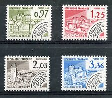 STAMP / TIMBRE FRANCE NEUF PREOBLITERE SERIE N° 174/177 ** MONUMENTS HISTORIQUES