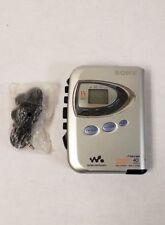Sony Walkman WM-FX290 Digital Tuning TV/Weather FM/AM Stereo Cassette - Silver
