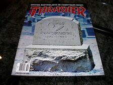 THRASHER MAGAZINE - OCTOBER 1993 - SKATEBOARDING