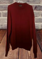 Men's TULLIANO Size XXXL Silk/Cotton Pullover Crew Neck Long Sleeve Sweater
