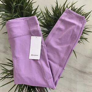 "Lululemon Invigorate Tight 25"" Jubilee Purple Lavender size 12 New $128"