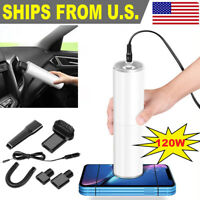 Car Vacuum Cleaner 12V With 120W For Auto Mini Portable Wet Dry Handheld Duster