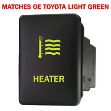 Push switch 958NG 12volt For Toyota OEM HEATER Tacoma LED NEW GREEN