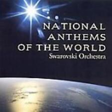 Swarovski Orchestra: National Anthems Of The World w/ Artwork MUSIC AUDIO CD NEW