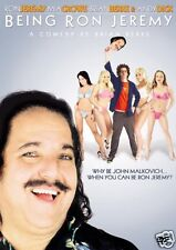 Being Ron Jeremy DVD Hillarious Comedy with Andy Dick Mary Carey Mia Crowe MORE