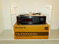 Sony TA-E1000ESD High-End Digital Processor / Verstärker, OVP&NEU, 2J. Garantie