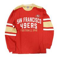 NFL San Francisco 49ers Football Long Sleeve Shirt, Large