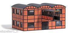Busch 1558,Bâtiment d'usine Entrepôt avec Pont de bâtiment,H0 Kit montage 1:87