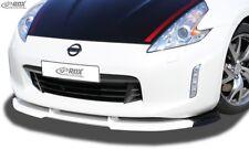 NISSAN 370Z (2013+) Front Bumper Lip Spoiler Splitter