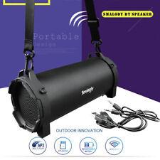 Smalody Wireless Bluetooth Speaker Outdoor Stereo Bass Subwoofer Fm Radio w/Mic