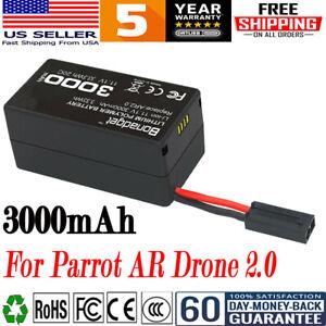 3000mAh Li-po Battery For Parrot AR Drone 2.0 11.1V 20C Quadcopter High Capacity