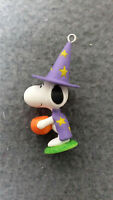 Hallmark 2018 Halloween Trick Or Treat Snoopy Miniature Ornament NIB