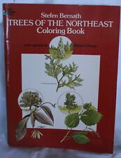 Dover Nature Coloring Book: Trees of the Northeast by Stefen Bernath 1979