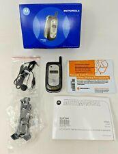 Motorola V323i US Cellular Camera Bluetooth Gray Flip Cell Phone in Original Box