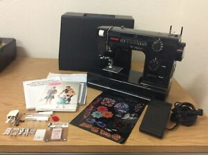 JANOME HD-1000 Sewing Machine BE Black Edition Heavy Duty For Leather/Denim
