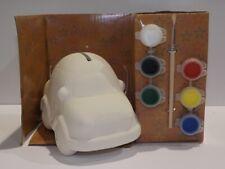Paint Your Own Money Box - Car