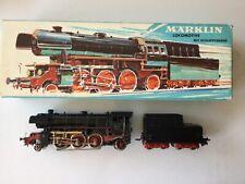 MARKLÏN  : Locomotive à vapeur à tender séparé Type 131 Ref 3005 boîte  HO