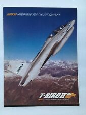 Vintage USA Airplane Jet Poster T-Bird II Lockheed MB339 Boeing Rolls Royce