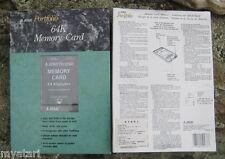 Atari/Roland/Korg Portfolio 64K Memory RAM Disk Card NEW