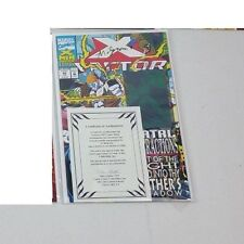 1993 Marvel X-Factor #92 Signed by Al Milgrom with COA NM Condition
