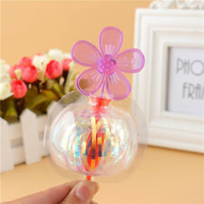 4pcs/lot Bubble Flower Magic Wand Glow Stick Christmas Party Flash Light Hot