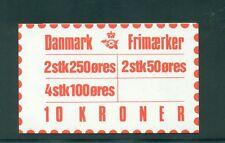 Denmark 1983 10 Kr Booklet Facit H50 print 25
