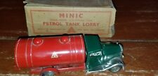 ANTIQUE TRI-ANG  PETROL TANK Lorry/Truck  England windup TOY ORIGINAL PAINT&box