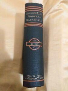 ENCICLOPEDIA MODERNA ILLUSTRATA CASA EDITRICE FRATELLI VALLARDI VOL 9 1924