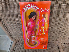 Vintage 1971 Walk Lively STEFFIE Barbie Doll RARE Sealed HTF NRFB MIB