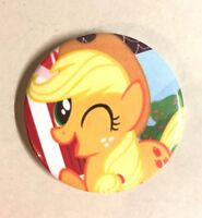 "My Little Pony Applejack Button Badge 2.25"" Pinback Pin MLP Jewelry Gift NEW"