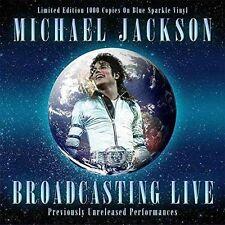 Michael Jackson Broadcasting Live Limited Edition Vinyl LP