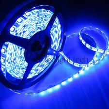 US Store 5m 5050 SMD UV 395-400nm Flexible 300 LED Strip Light Waterproof 12V DC