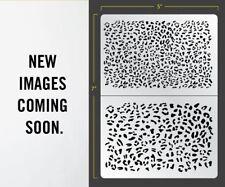 Leopard Airbrush Stencil Organik Schablonen Maskierung Gestaltung Organisch