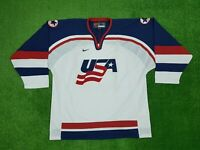 Nike USA National Team Winter Olympics Hockey Jersey Men's Size XL 2002