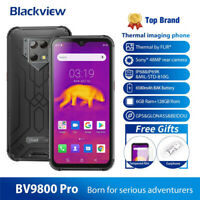 "6.3""Blackview BV9800 Pro 6G+128GB Smartphone 48MP Camera Wireless Charge 6580mAh"