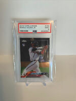 2018 Topps Chrome Ronald Acuna Jr. ROOKIE RC #193 PSA 9 MINT