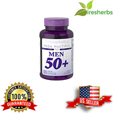 MEGA MULTIPLE MEN 50 PLUS VITAMIN SUPPLEMENT HEALTHY AGING SUPPLEMENT 100 CAPLET