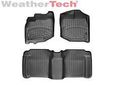 WeatherTech DigitalFit FloorLiner Floor Mats for Honda Fit - 2009-2013 - Black