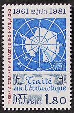 Z389 FSAT TAAF Fr. Southern Antarctic 1981 #94 20th. Anniv. Treaty Mint NH
