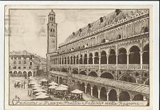 vecchia cartolina di padova  1939 albergo centenario padova perfetta