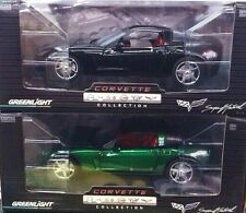 Greenlight C6 CORVETTE Callaway Set VERY Limited GREEN MACHINE only 84 made !!