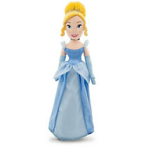 "Disney Store Classic Blue Cinderella BIG Plush Doll 21"" Princess Girls Gift NEW"