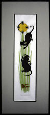 EQUINOX MICE WOODCUT FRAMED ART PRINT HAND SIGNED AND NUMBERED WITH COA RARE!!