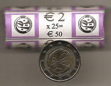 ROL --- ROULEAU 2 EURO  Belgique 2009 België  ***  10 ans EMU 10 jaar !