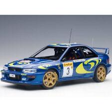 Autoart Subaru Impreza WRC 1997 #3 Rally Of Monte Carlo 1:18 89790 Blue