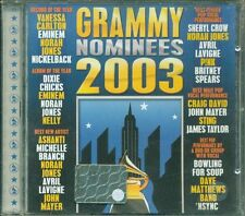 Grammy Nominees 2003 - Eminem/Norah Jones/Avril Lavigne/Spears/Sting Cd Ottimo