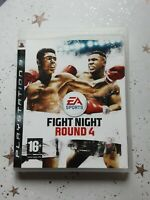FIGHT NIGHT ROUND 4 PLAYSTATION 3 GAME PS3 COMPLETE WITH MANUAL GOOD CONDITION